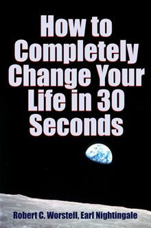 How to Completely Change Your Life in 30 Seconds:   #168 in Health & Well Being > Self Help > Self Improvement > Motivational    #43 in Health & Well Being > Self Help > Self Improvement > Self-Esteem    #4 in Health & Well Being > Psychology > Creative Ability    This is a book which continues to sell since it was published - right price, cover, description, tags, etc. See more new releases at http://midwestjournalpress.com/new-releases.php