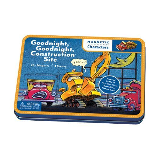 Amazon.com: Goodnight, Goodnight Construction Site Magnetic Characters: Toys & Games