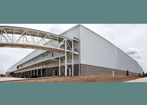 Grupo Dekma - Arquitectura e Ingeniería - Obra Industrial, centro logístico