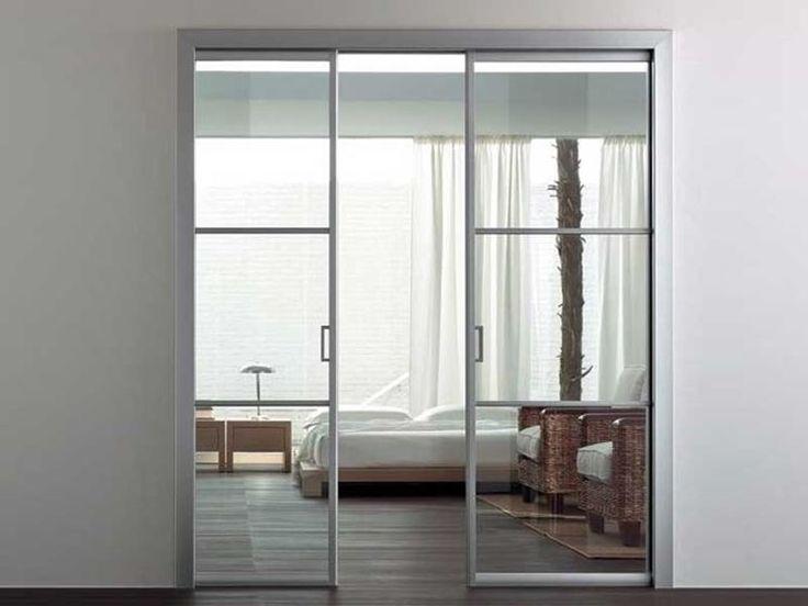 28 best vrata images on Pinterest Sliding doors, Room dividers and - fabriquer porte coulissante japonaise