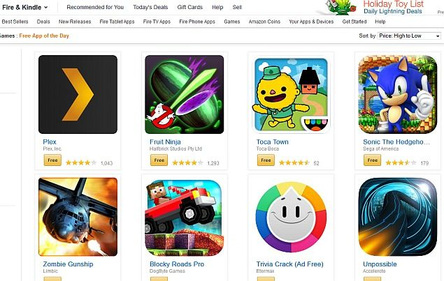 Daily Tech: Amazon Appstore Offering 35 Android Apps Worth Ove...