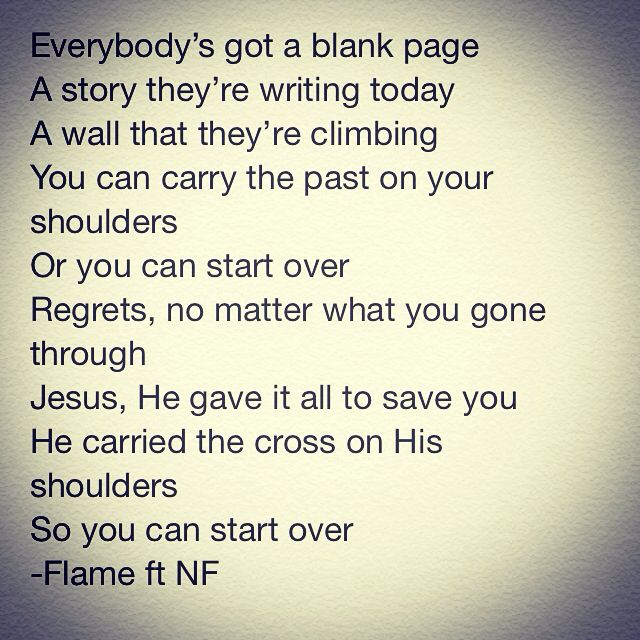 Start over by FlameCCM ft NF