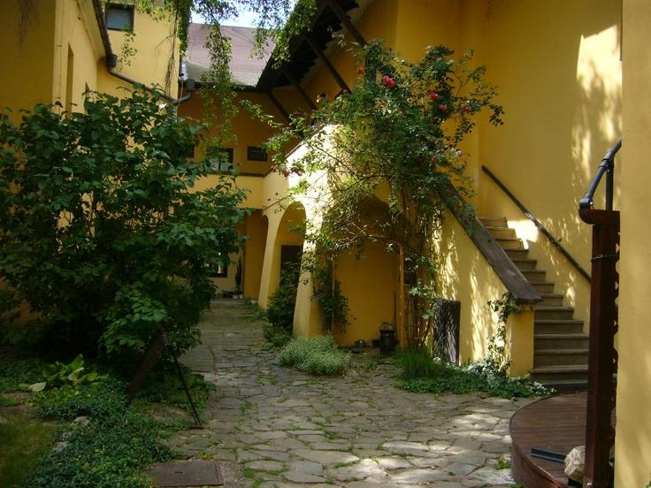 Kroměříž courtyard