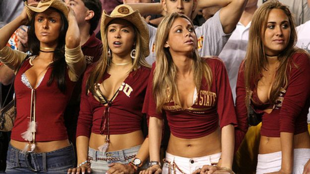 The girls at UF are hotter...said no one ever.