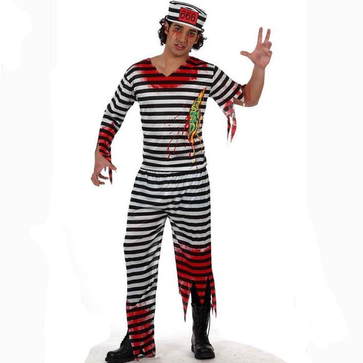 Disfraz de preso muerto adulto #disfraces #halloween #presidiarios