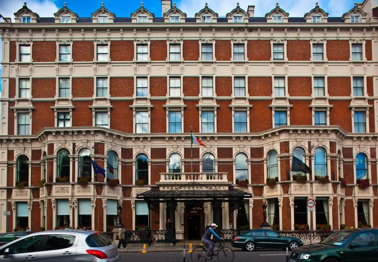 Shelbourne Hotel on yksi Dublinin legendaarisimmista hotelleista. © The Shelbourne Hotel
