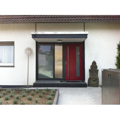 Haustüren mit seitenteil und briefkasten  16 besten Haustür Bilder auf Pinterest | Windfang, Wohnen und Eingang