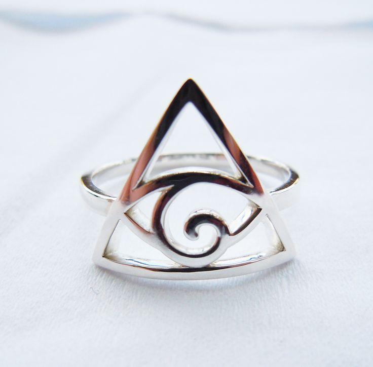Твердые 925 стерлингового серебра иллюминаты кольцо ручной работы все размеры