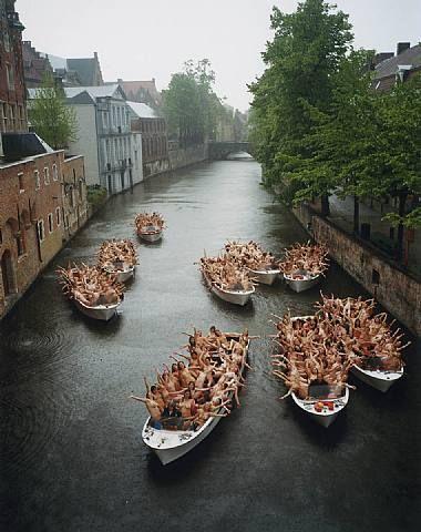 Brugge 4, 2005 Spencer Tunick