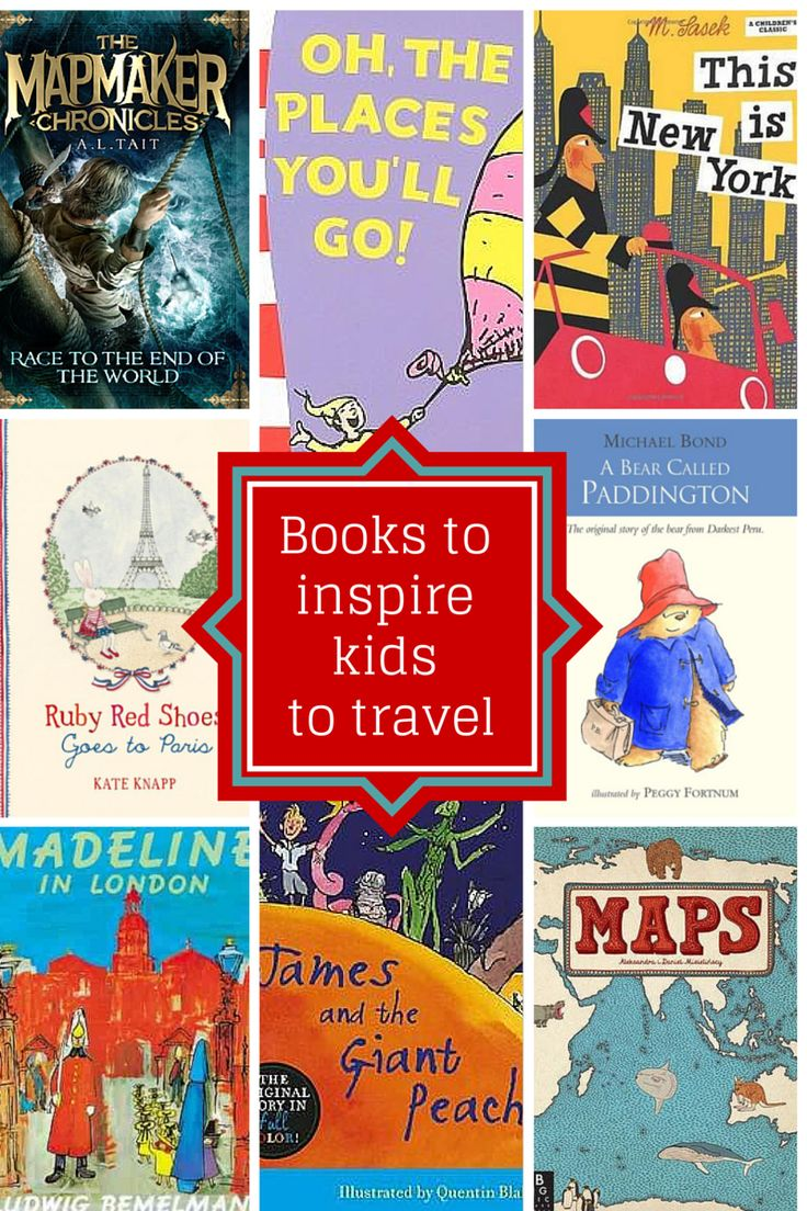 14 Books that will inspire kids to travel - family travel inspiration!