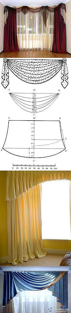 """""""Los patrones y las guirnaldas de cortinas"""