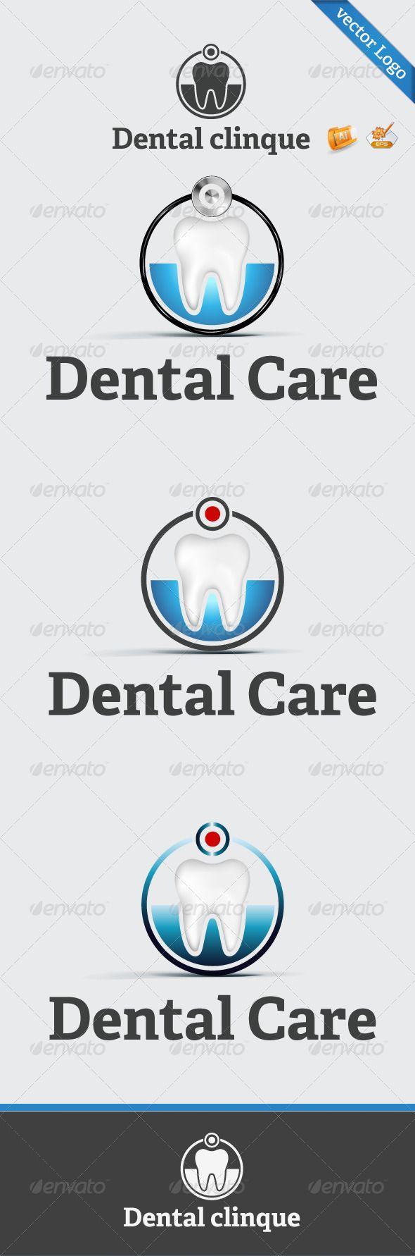 Dental Clinique Logo Template