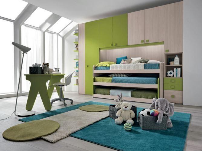 136 best camerette images on Pinterest | Child room, Infant room and ...