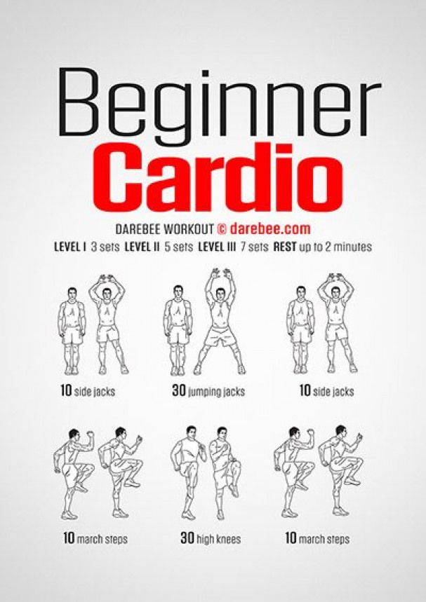 Beginner Cardio Workout Looseweight Beginner Cardio