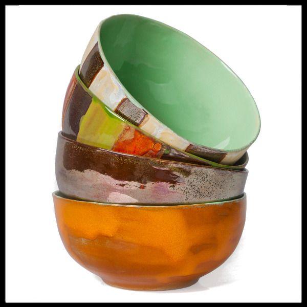 Ceramiczne miski do zupy