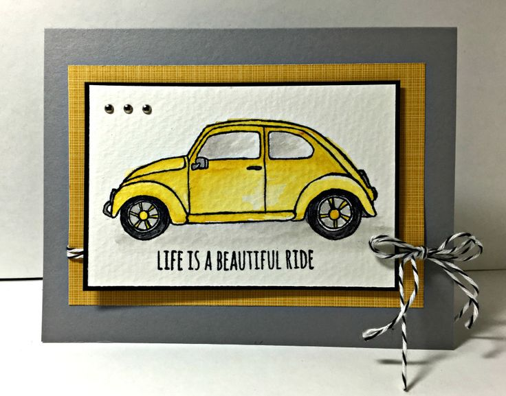 MauiStamper Beautiful Ride Birthday cards for men, 70th