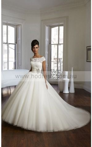 Buttons  Ball Gown Natural Jewel Wedding Dresses gycf1012