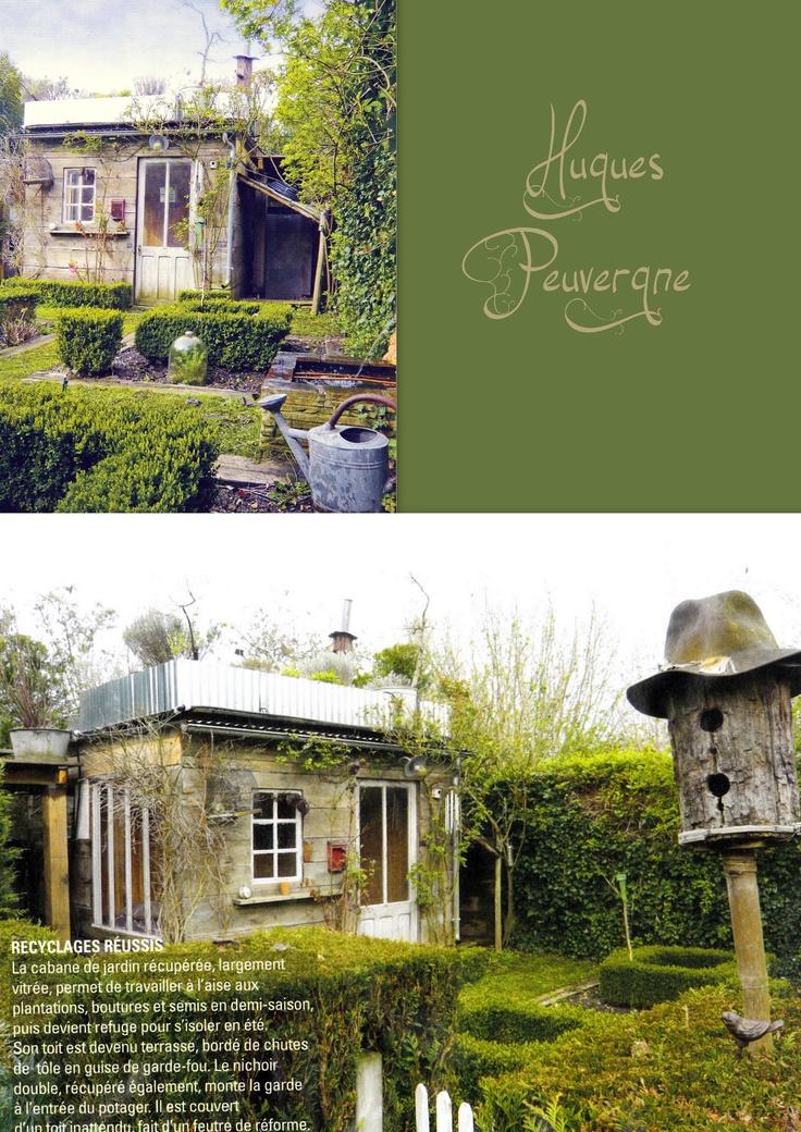 Gardenbeamflower il me faut absolument une cabane comme for Au fond du jardin