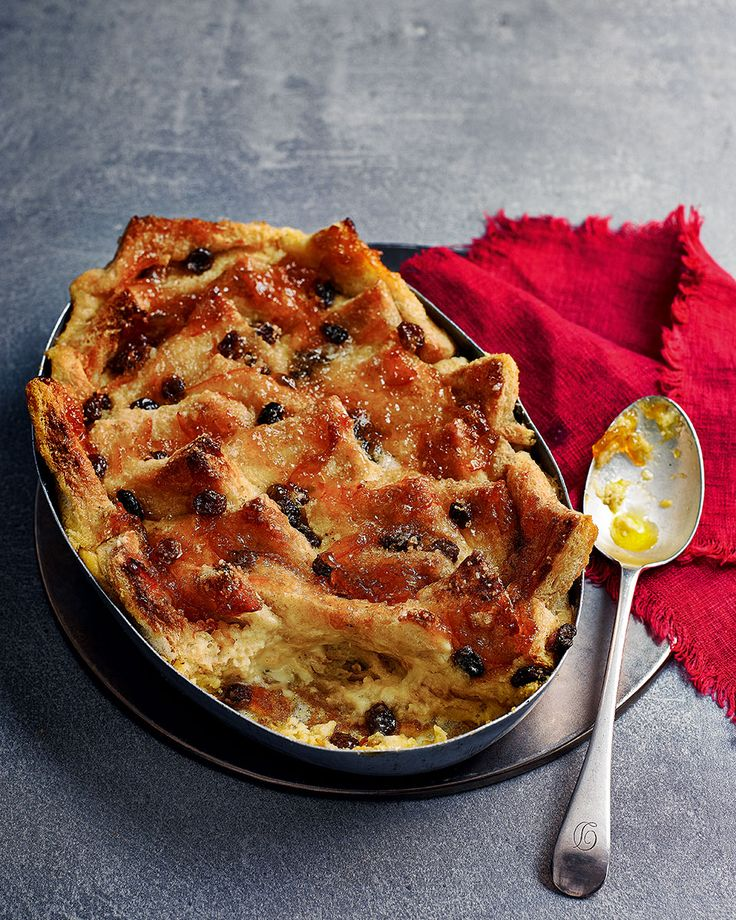 Marmalade bread and butter pudding - This classic pud is proper comfort food and the addition of marmalade makes it even more decadent.