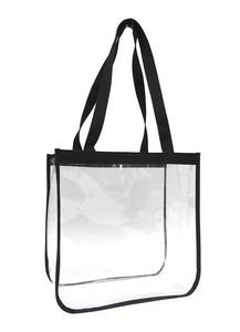 Clear Security Open Tote Bag. #securitytotebag #clearsecuritybag