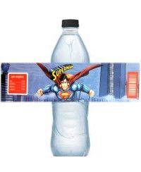 Superman Su Şişesi Bandı