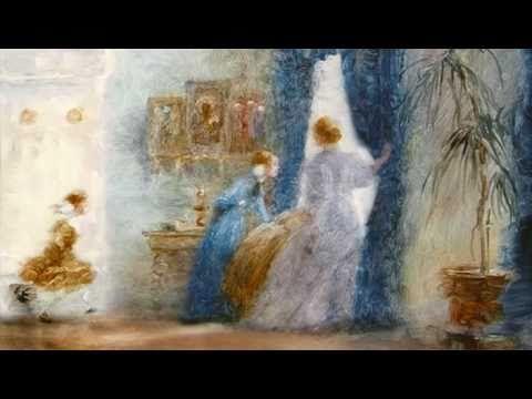 Моя любовь (реж. Александр Петров) - YouTube Написанный маслянными красками по стеклу