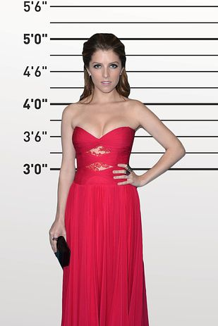 "Hayden Panettiere and Anna Kendrick (both 5'0""). 
