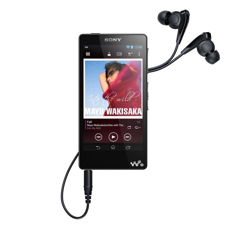 Sony lança walkman topo de gama NWZ-F886