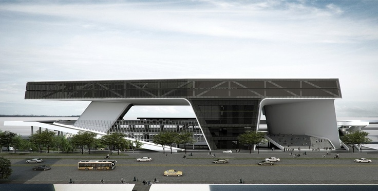 Kaohsiung Port and Cruise Service Center Proposal / JET Architecture, CXT Architects & Archasia Design Group