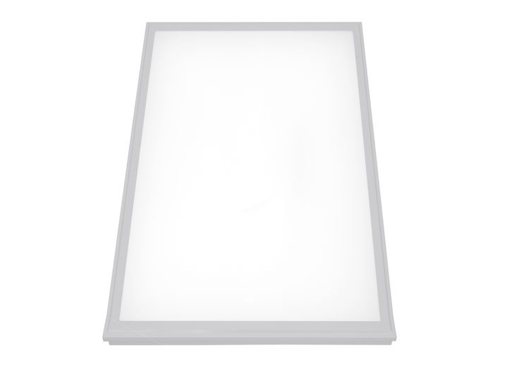 Cool white 1200 x 600mm LED ceiling lighting panel that can be dimmed from Exled. Perfect lighting solution for healthcare and waiting rooms that have 1200 x 600 ceiling panel grid - also available in a neutral white.
