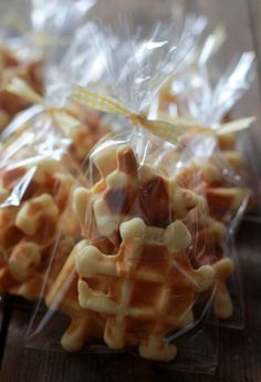 Today I have a great recipe for Belgian Waffle Cookies. These miniature wafeltjes are baked in a waffle iron and are so rich and buttery (the recipe calls for 400g butter!). My husband grew up ea...