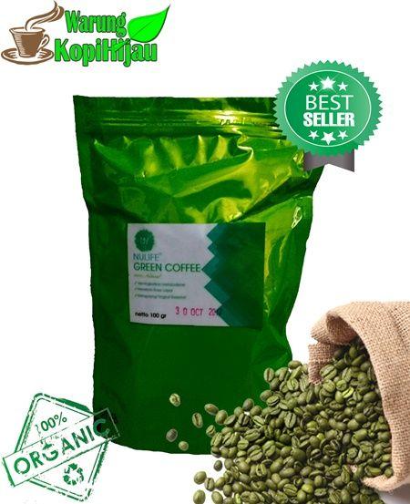 Nulife Green Coffee Originall Serbuk Terlaris Saat Ini