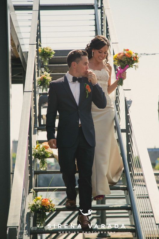 Entrance at Les Eclusiers par Apollo by Sirena Varada Montreal Wedding Photography.