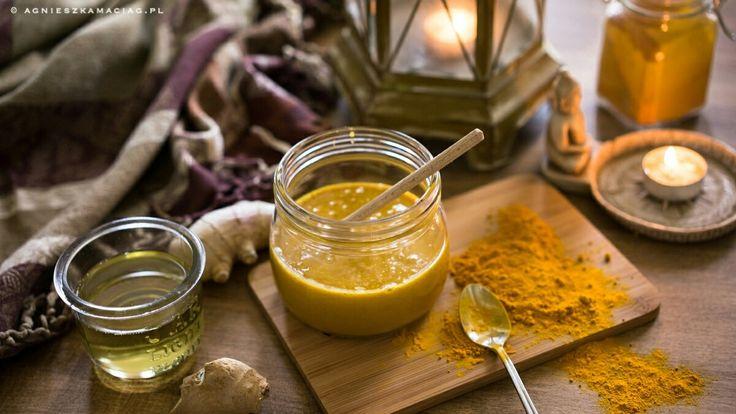 Mój naturalny antybiotyk – miód z kurkumą, imbirem i propolisem