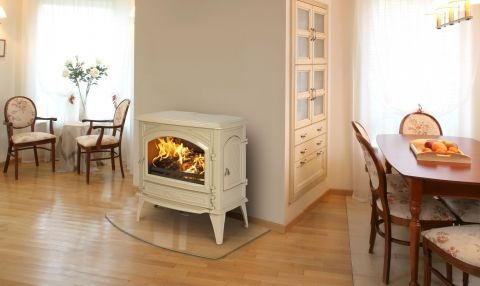 Home Fires Closed Slow Combustion Enameled Fireplaces from Home Fires