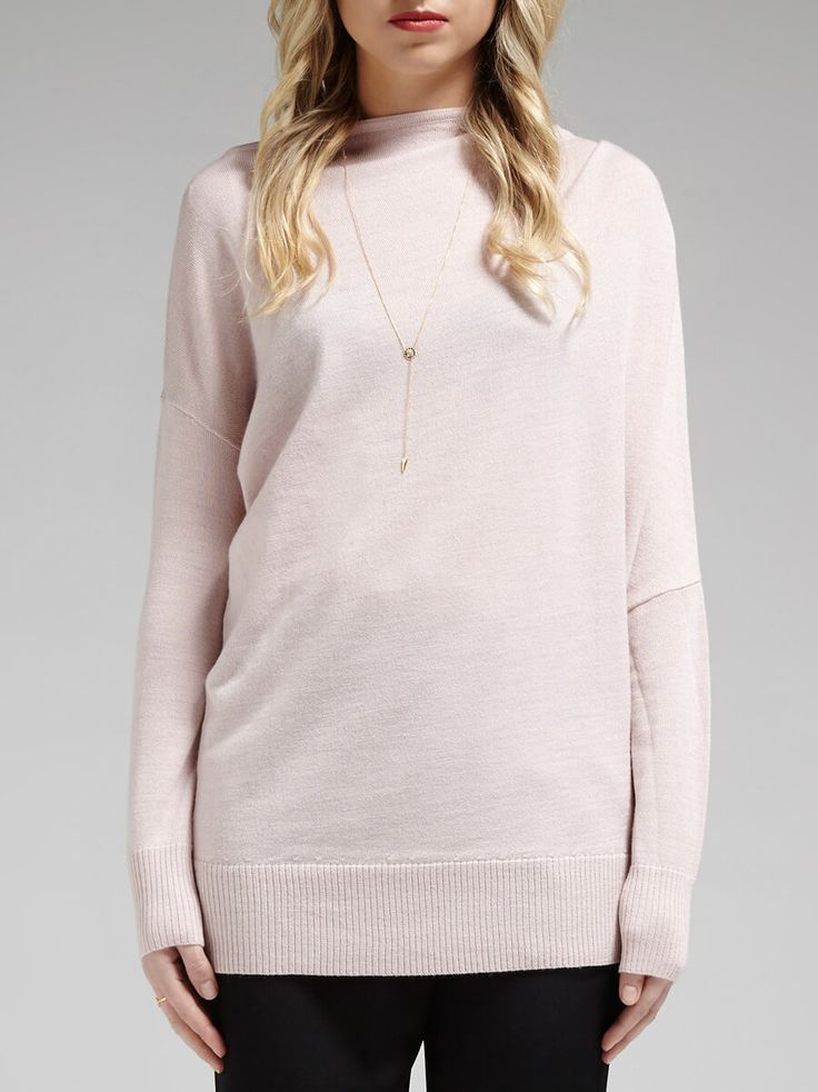 Camilla And Marc - North Face Shoulder Drape Pullover Knit