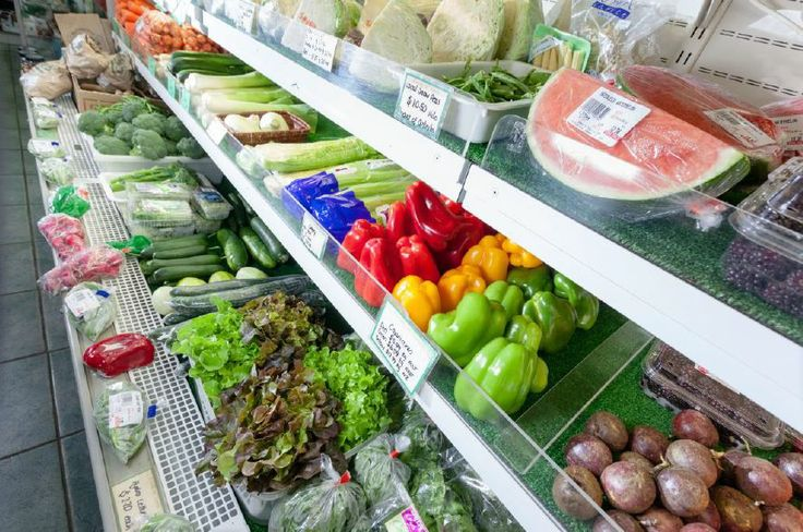 Great range of fresh local produce.