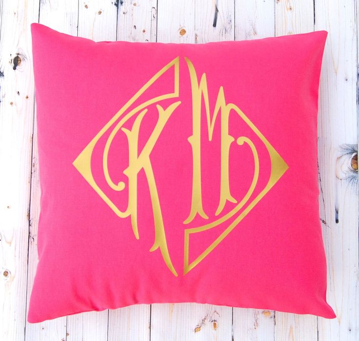 throw pillow covers letter monogram letters gift wedding forward two
