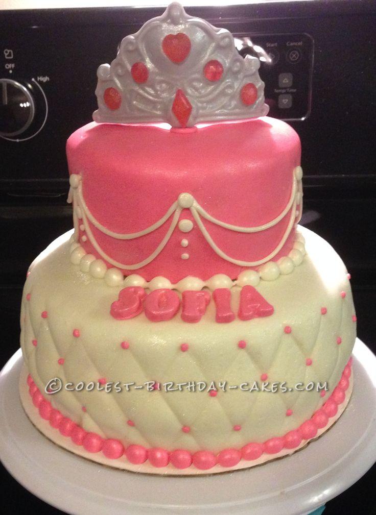 Beautiful Last-Minute Princess Birthday Cake... Coolest Birthday Cake Ideas