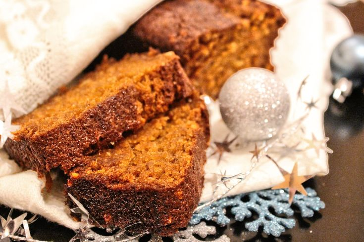 Super saftiges Weihnachtsbrot mit Kürbis und Nüssen (Kürbisbrot) [Rezept]