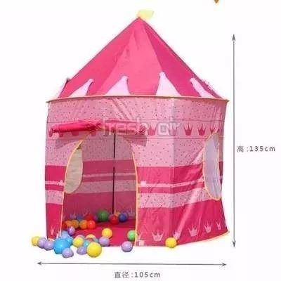 Castillo Carpa Juguete Princesas Casa Disney Niña Niño Bebe - $ 54.990 en Mercado Libre