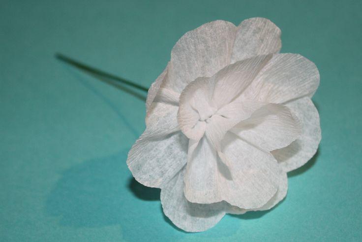 Paper Streamer Flower tutorial