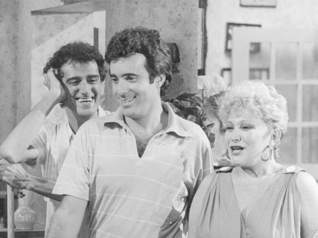 André Valli, Tony Ramos e Nicette Bruno em 'Selva de Pedra'