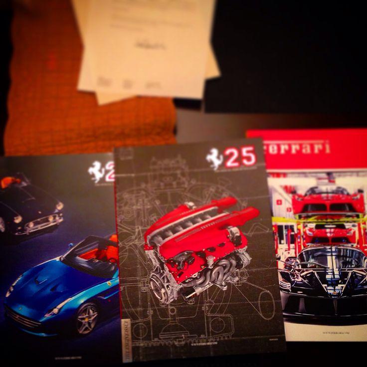 Special edition Ferrari magazines #Ferrari