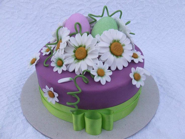 27 migliori immagini torte decorate su pinterest torta - Torte salate decorate ...