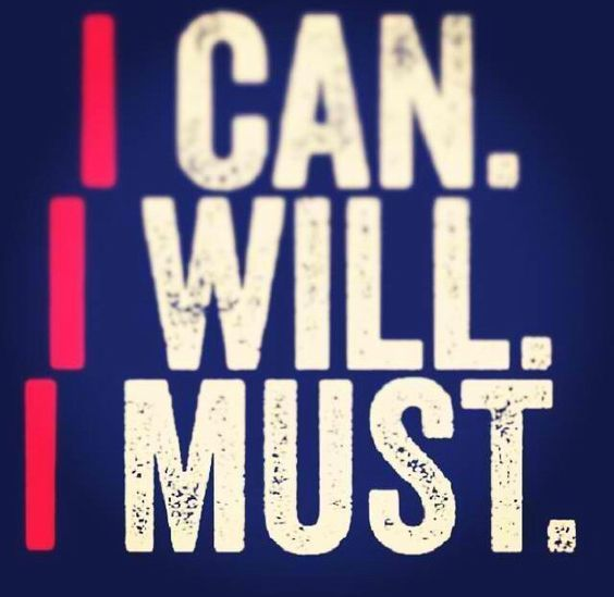I can. I will. I mus (mighty Utah student)