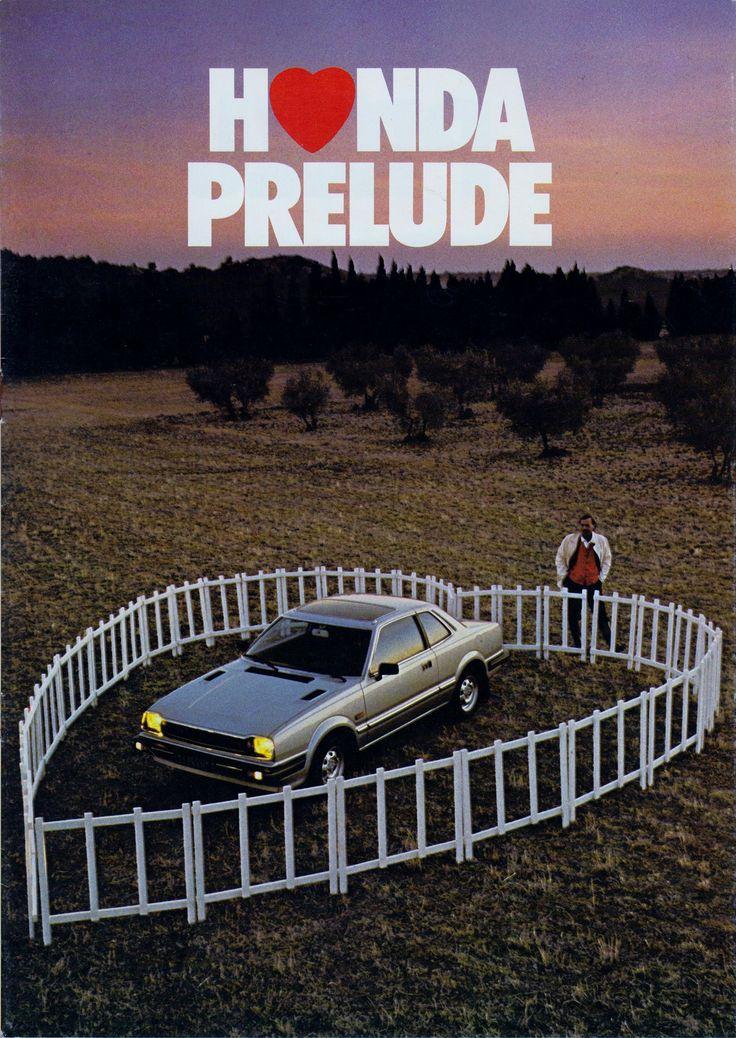 Honda Prelude Mk1 France Brochure 1981