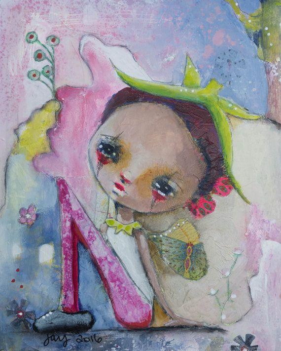 Wee Pixie Pearl ~ Art by Jay Watkins