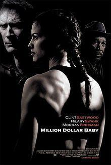 million dollar babyFilm, Morgan Freeman, Million Dollar Baby, Baby 2004, Clinteastwood, Favorite Movie, Hilarious Swank, Baby2004, Clint Eastwood