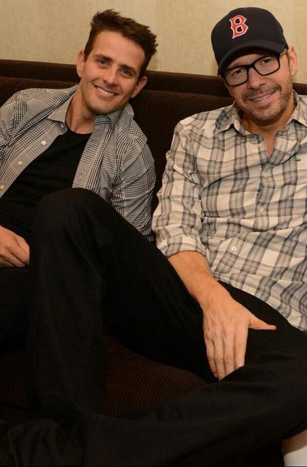 ❤NKOTB ~ Donnie Wahlberg & Joey McIntyre❤